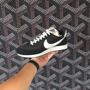 Nike Cortez, Black/White, Size 11.5